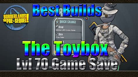 Borderlands The Pre Sequel | Best Builds | The Toybox