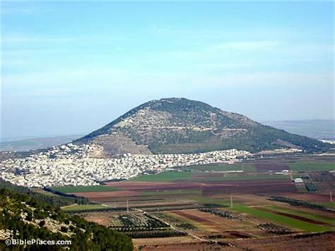 Mount Tabor (BiblePlaces