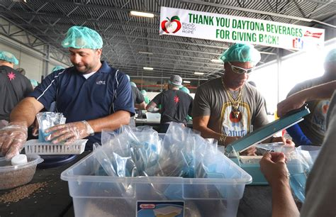 'A cool way of giving back': Daytona Beverages employees