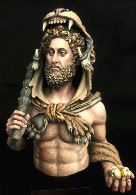 Commodus disgused Hercules by Magnus Fagerberg · Putty&Paint