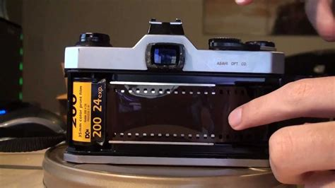 How to load a 35mm Film SLR - YouTube