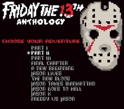 Nintendo 8-bit Friday The 13th Anthology Game Concept