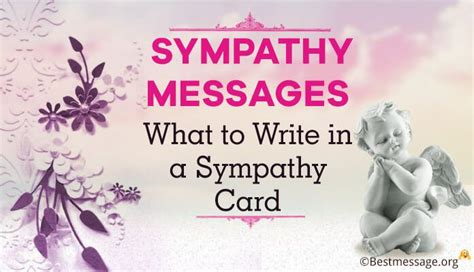 Sympathy Messages and Quotes: What to Write in a Sympathy