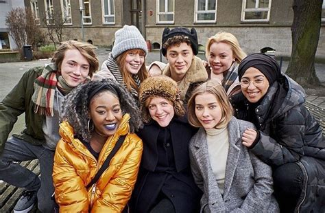 Druck — The cast and the director of Druck