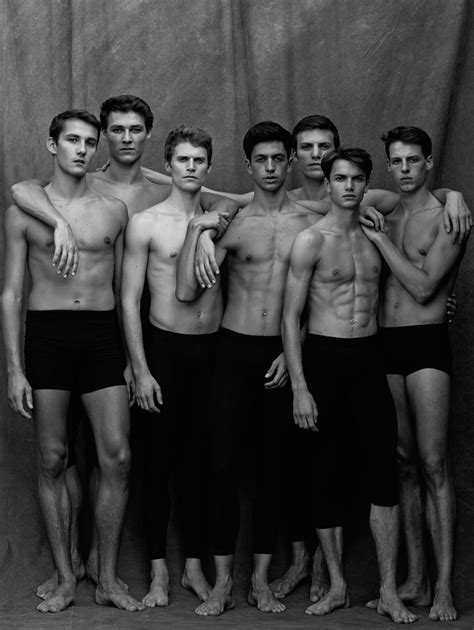 Ballet laid bare: Matthew Brookes' intimate photos of male