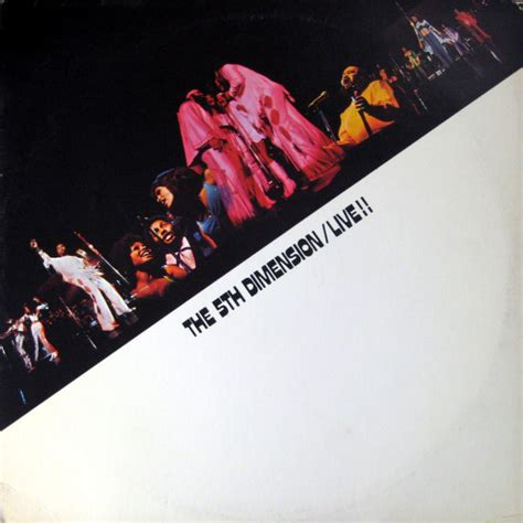 The 5th Dimension* - Live!! (1971, BW, Vinyl)   Discogs