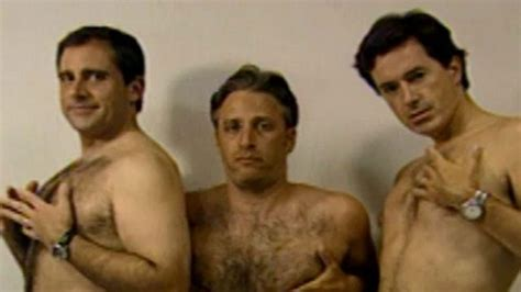 You Can't Unsee This Shirtless Video of Jon Stewart, Steve