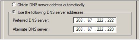 How to Update your DNS with OpenDNS - A Guide for DNS Settings