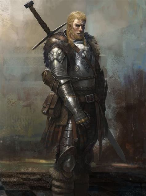 Human fighter barbarian | Personnages fantastiques, Image