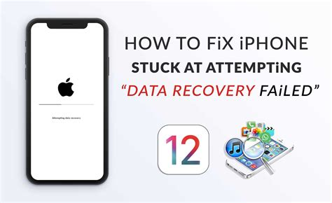 """How to Fix iPhone Stuck At """"Attempting Data Recovery"""