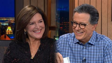 Stephen Colbert and His Wife Evie Get Super Flirty in Cute