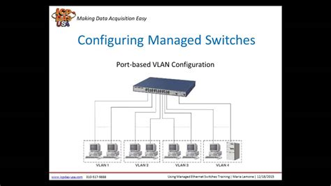 Using Managed Ethernet Switches Training Webinar from ICP