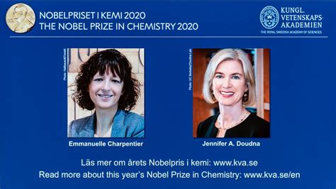 2 scientists awarded Nobel chemistry prize for discovery