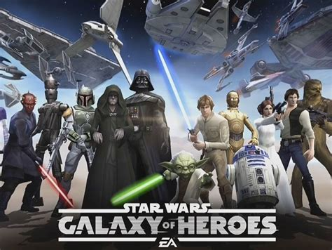 Star Wars: Galaxy of Heroes gets its first trailer ahead