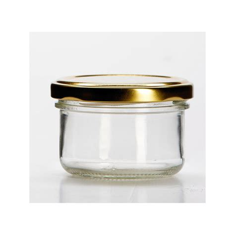 12 glass jars 120 ml, TO 70 mm capsules included