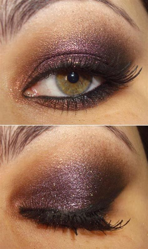 This dramatic, shimmery deep purple is a gorgeous color