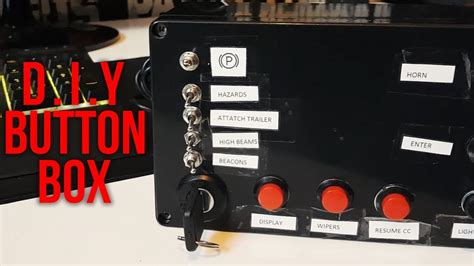 BUILDING A CUSTOM BUTTON BOX FOR PC!   Great for use with