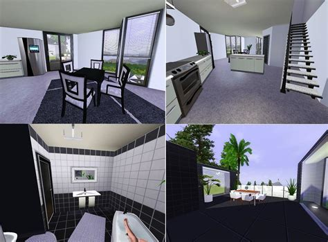 Mod The Sims - Ozonemania Inspired Modern Home