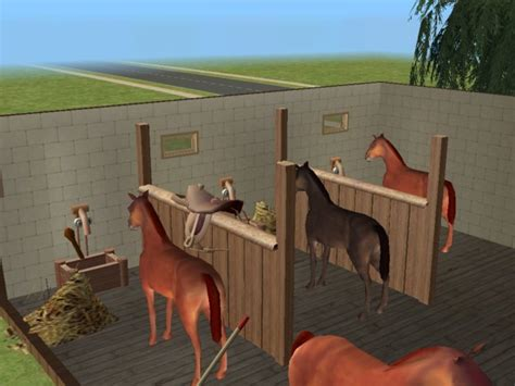 Mod The Sims - New Mesh-Partitions for Horse stable!