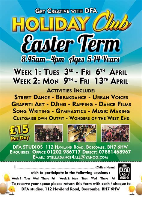 Children's Easter Holiday Club in Bournemouth - £15 per