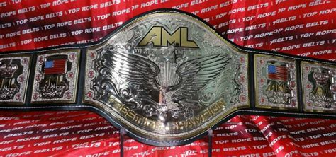 AML Americas Most Liked Championship Belt   Top Rope Belts