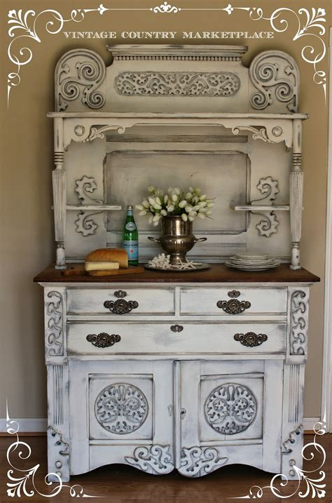 Vintage Country Style: European Sideboard Make Over Annie