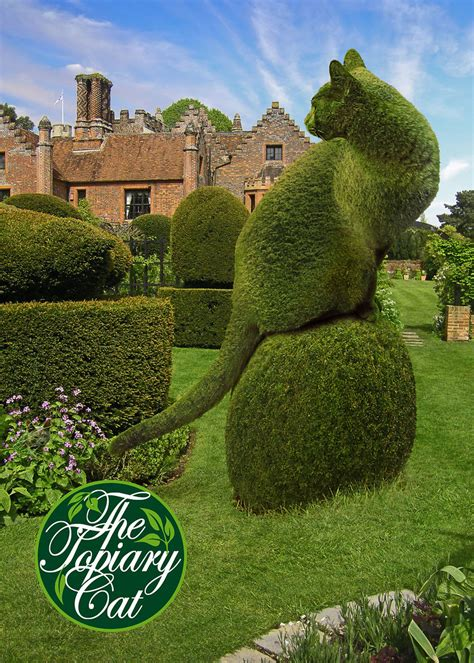 The Topiary Cat visits Chenies Manor House | I had a