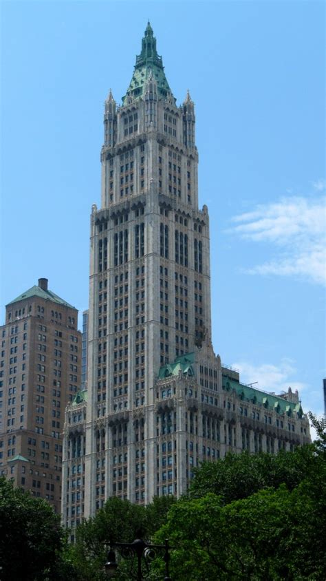 Woolworth Building – Few and far…