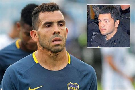 Ex-Man United and City star Carlos Tevez injured playing