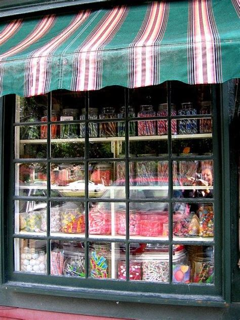 Great way to draw customers in displaying the candy in the