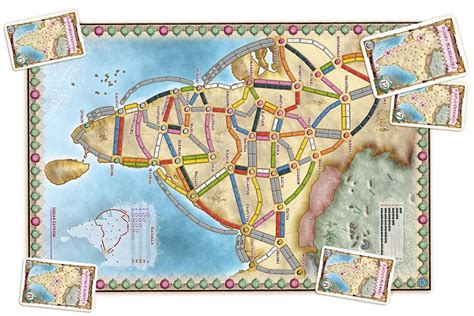 Complete List Of Ticket To Ride Board Games Ranked   2020