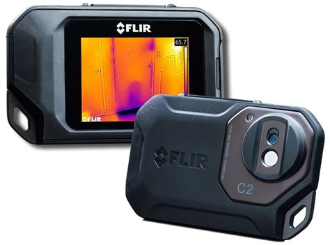 FLIR C2 Thermal Imaging Camera with MSX - Pocket Sized and
