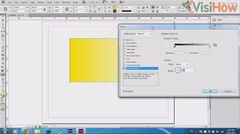 Use Drop Shadow in Adobe InDesign CS6 - VisiHow