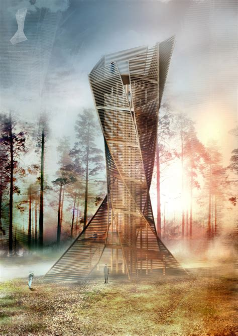 Italian Architects to Build Tree-Inspired Lookout Tower in