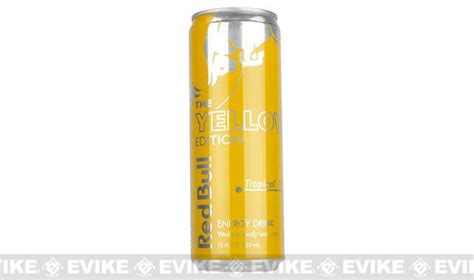 Red Bull Energy Drink (Flavor: Yellow Edition 12oz