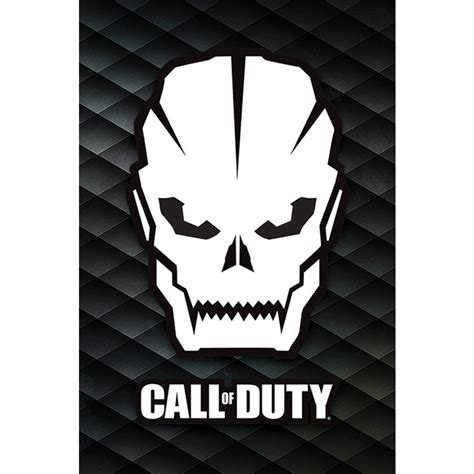 Call of Duty Poster Skull - Posters buy now in the shop