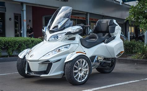 New Can-Am Spyder RT Limited SE6 2017 - White For Sale