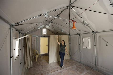 Ikea Foundation building easy-to-assemble refugee shelters
