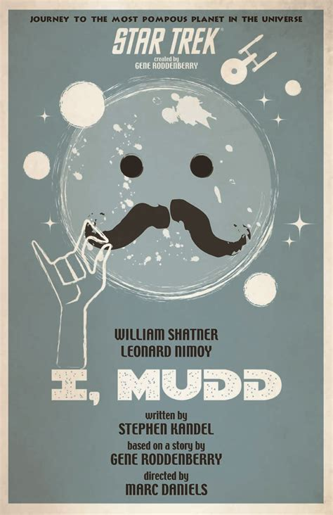 Exclusive: Star Trek Retro Posters For I, Mudd And By Any