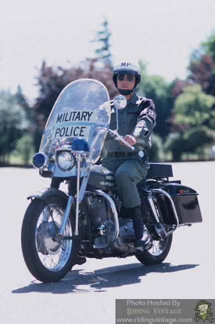 The US Military Police and Their Harley-Davidson