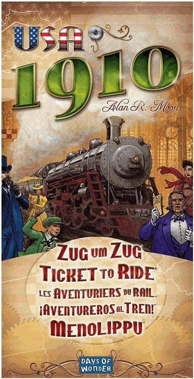 Ticket to Ride: USA 1910   GeekStop Games
