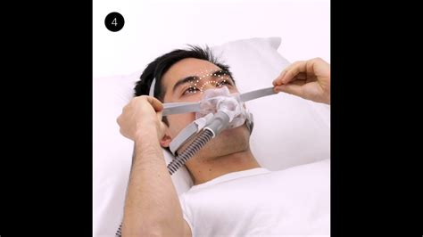 Managing leaks   Full face CPAP mask   ResMed AirFit™ F30