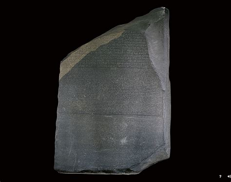 You Can Now See the Rosetta Stone in 3-D From the Comfort