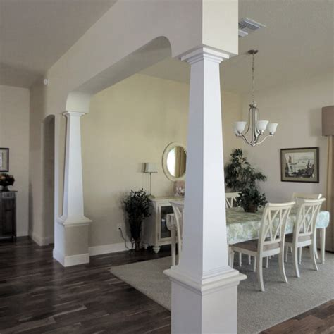 Benefits of Replacing Load-Bearing Walls with Columns and