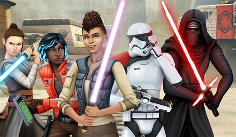 The Sims 4 Star Wars Journey To Batuu Game Pack Revealed