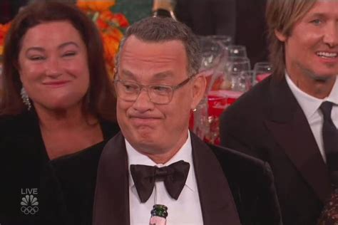 Golden Globes: Here are GIFs of Tom Hanks looking unamused
