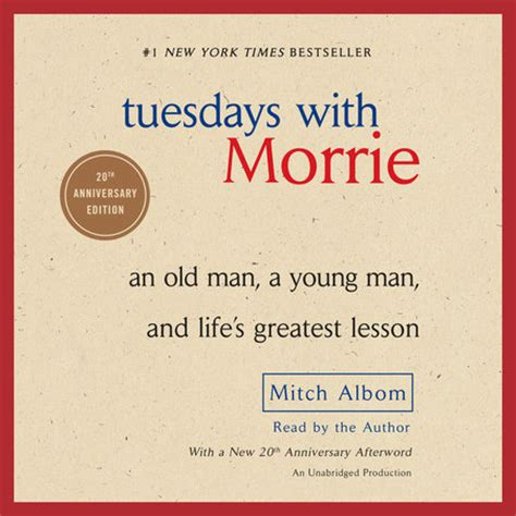 Tuesdays with Morrie by Mitch Albom   Penguin Random House