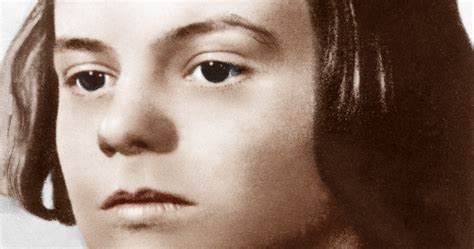 Beheaded by the Nazis at age 21, Sophie Scholl died