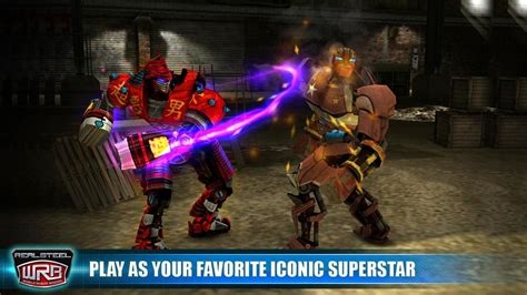 ANDRO SOURCE: Real Steel World Robot Boxing 5